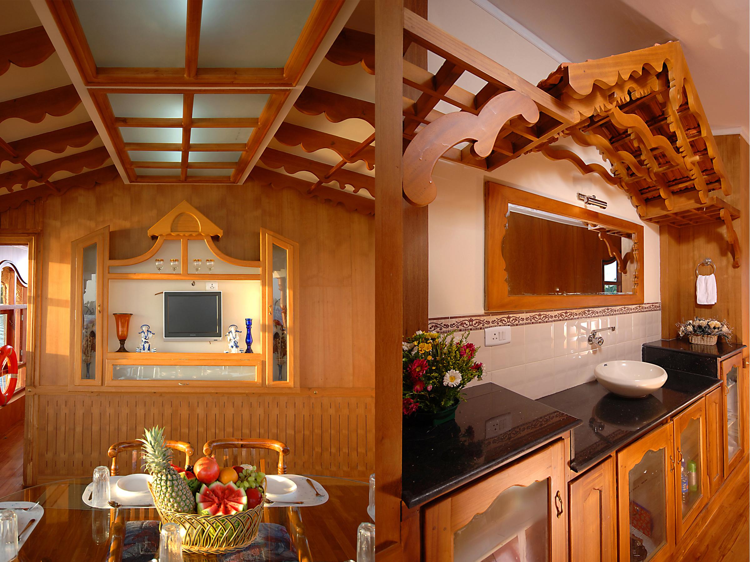 kerala premium houseboats. Black Bedroom Furniture Sets. Home Design Ideas